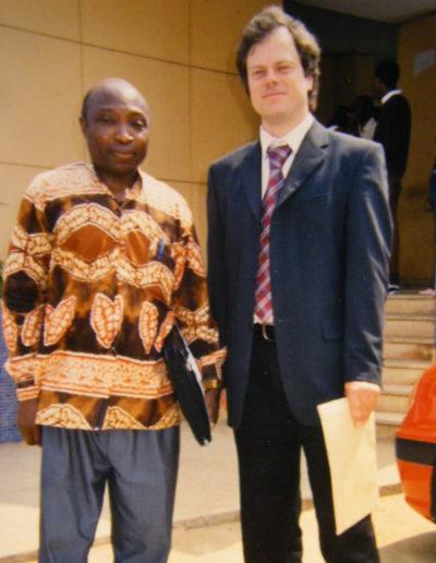 Lecture at Agostinho Neto University, Luanda, Angola, 2005