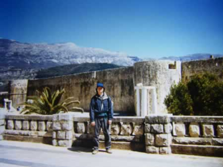 Cetinje, Montenegro, 1997.  Scene of the final story in North of Tourism